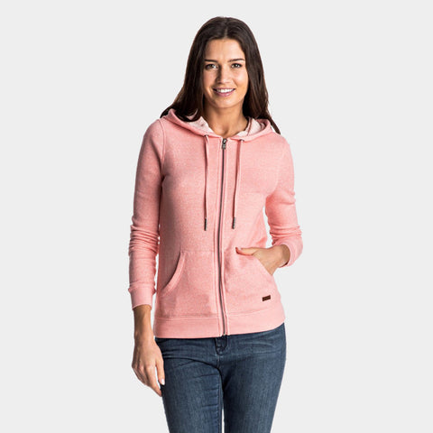Signature Zip Up Hoodie | Lady Pink