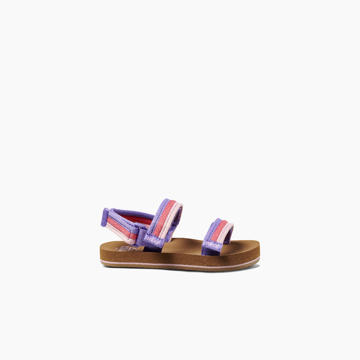 Sideview of Kids Little Ahi Convertible Sandals - Sorbet