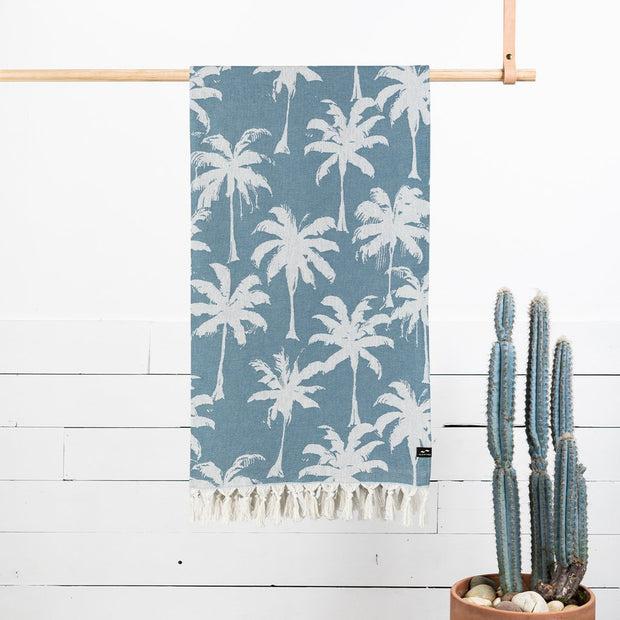Loreto Towel - Dusty Blue