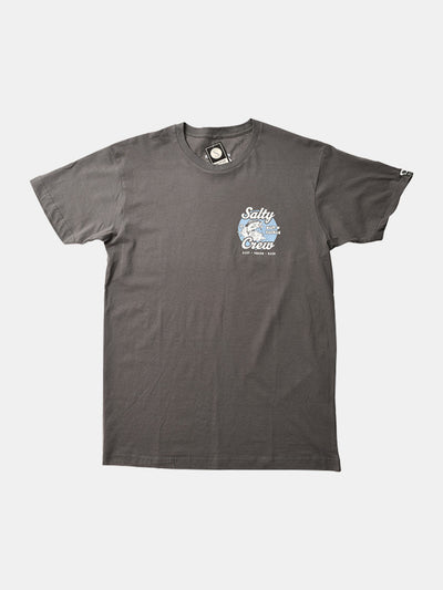 Bait And Tackle S/S Tee - Cool Grey