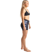 Surf Shop, Surf Accessories, C-Skins, Solace 1.5mm Womens Flatlock Shorts, Wetsuit Shorts, Anthracite/Coral/Black
