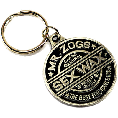 Surf Shop, Surf Accessories, Sex Wax, SexWax Key Ring, Surf Essentials, Gunmetal