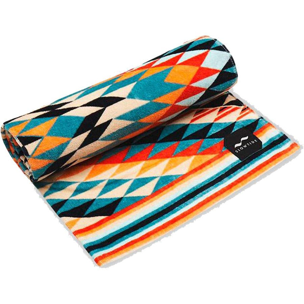 Surf Shop, Surf Accessories, Slowtide, Black Hills, Towel, Rust