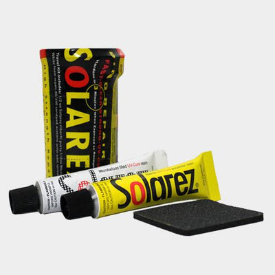 Surf Shop, Surf Accessories, Surf Essentials, Solarez, Polyester Pro Mini Travel Kit, Repair Kits, Yellow