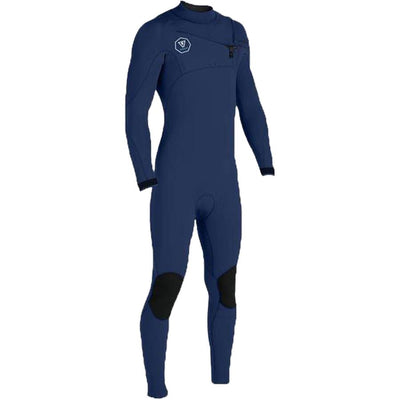 Surf Shop, Surf Accessories, Vissla, 7 Seas 5x4 Chest Zip, Wetsuit, Dark Naval