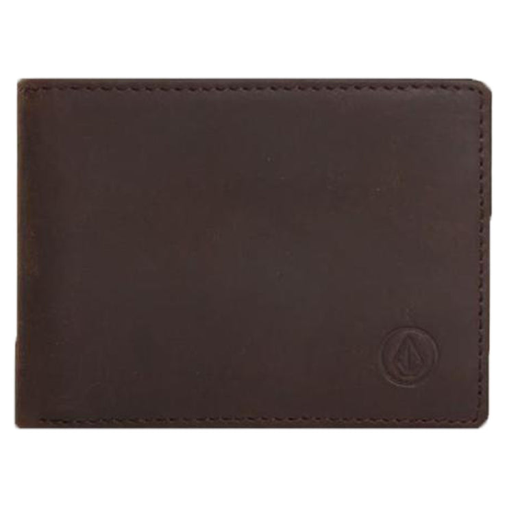 Surf Shop, Surf Accessories, Volcom, Leather Wallet, Wallets, Brown