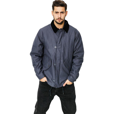 Surf Shop, Surf Clothing, Brixton, Apex Jacket, Jackets, Steel Blue