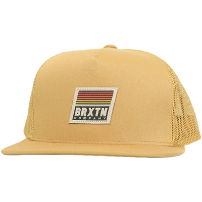 Surf Shop, Surf Clothing, Brixton, Banyan MP Mesh Cap, Hats, Copper