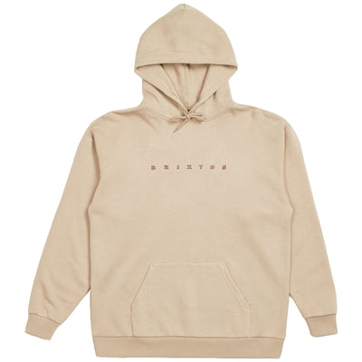 Surf Shop, Surf Clothing, Brixton, Cantor Pullover Hood, Hoodie, Light Khaki
