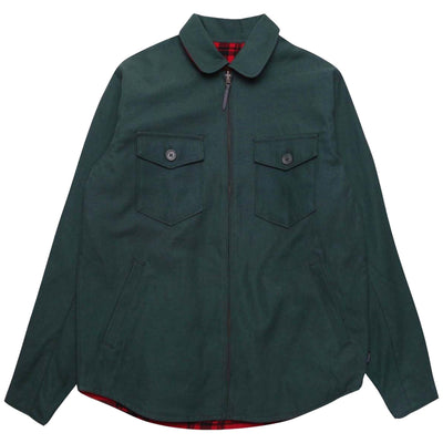 Surf Shop, Surf Clothing, Brixton, Cascade Jacket, Jackets, Hunter Green