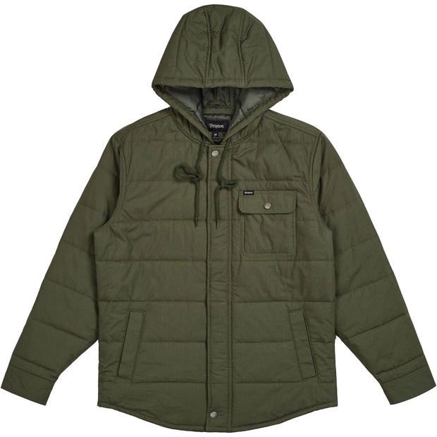 Surf Shop, Surf Clothing, Brixton, Cass Hooded Jacket, Jackets, Pine