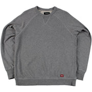 Surf Shop, Surf Clothing, Brixton, Damo Crew Fleece, Sweatshirts, Charcoal Heather
