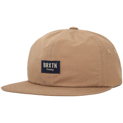 Surf Shop, Surf Clothing, Brixton, Hoover II Cap, Hats, Dark Khaki