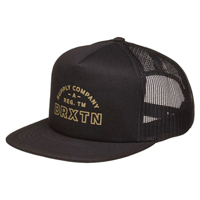 Surf Shop, Surf Clothing, Brixton, Knoxville Mesh Cap, Hats, Black