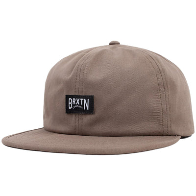 Surf Shop, Surf Clothing, Brixton, Langley Cap, Hats, Washed Mocha