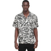 Surf Shop, Surf Clothing, Brixton, Lovitz SS Woven Shirt, Shirts, Washed Black/Bone