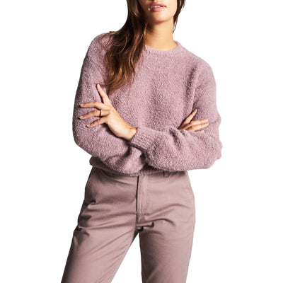 Surf Shop, Surf Clothing, Brixton, Maiden Sweater, Sweatshirt, Mauve