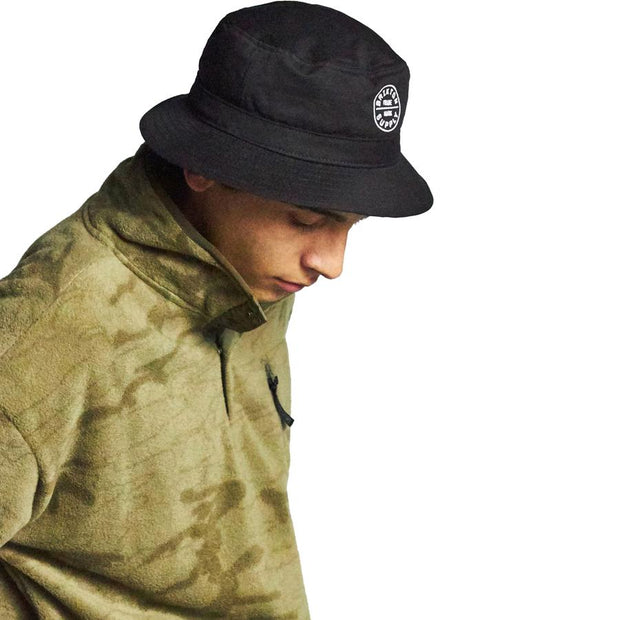 Surf Shop, Surf Clothing, Brixton, Oath Bucket Hat, Hats, Black