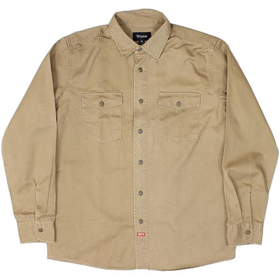 Surf Shop, Surf Clothing, Brixton, Olson LS Woven Shirt, Shirts, Khaki