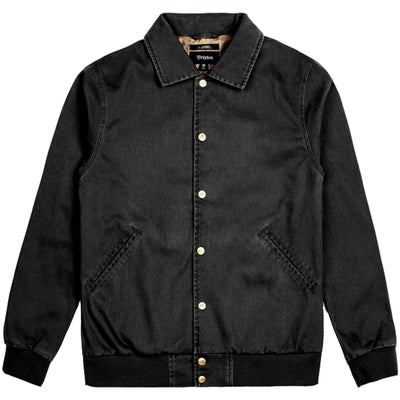 Surf Shop, Surf Clothing, Brixton, Project JJE Jacket, Jackets, Black