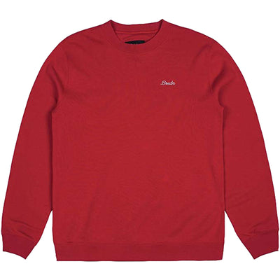 Surf Shop, Surf Clothing, Brixton, Westchester Crew Fleece, Sweatshirts, Red