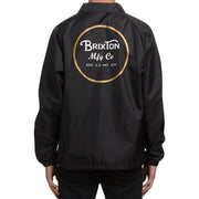 Surf Shop, Surf Clothing, Brixton, Wheeler Jacket, Jackets, Black/Gold