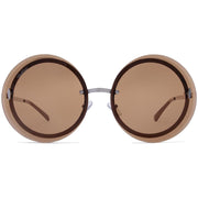 Surf Shop, Surf Clothing, Crush Eyes, Asher, Sunglasses, Brown/Silver