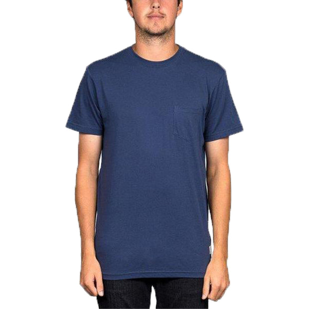 Surf Shop, Surf Clothing, DC Shoes, Basic Pocket Tee, Tshirt, Navy