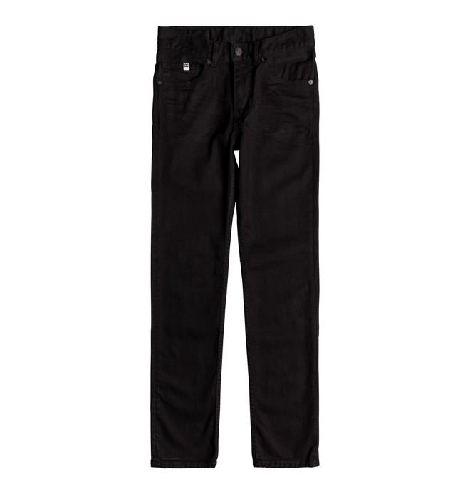 Surf Shop, Surf Clothing, DC Shoes, Boys Worker Slim Jean, Jeans, Black/Black/Rinse