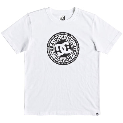 Surf Shop, Surf Clothing, DC Shoes, Circle Star, Tshirt, White