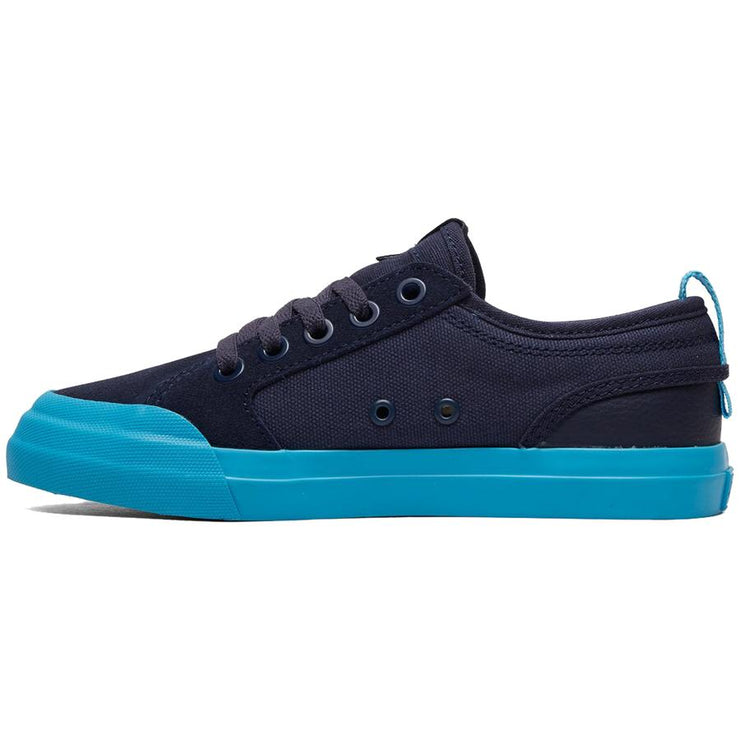 Surf Shop, Surf Clothing, DC Shoes, Evan, Shoes, Navy/Bright Blue