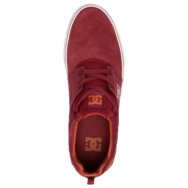 Surf Shop, Surf Clothing, DC Shoes, Heathrow Vulc, Shoes, Burgundy