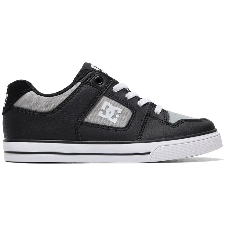Surf Shop, Surf Clothing, DC Shoes, Pure Elastic, Shoes, Black/Grey