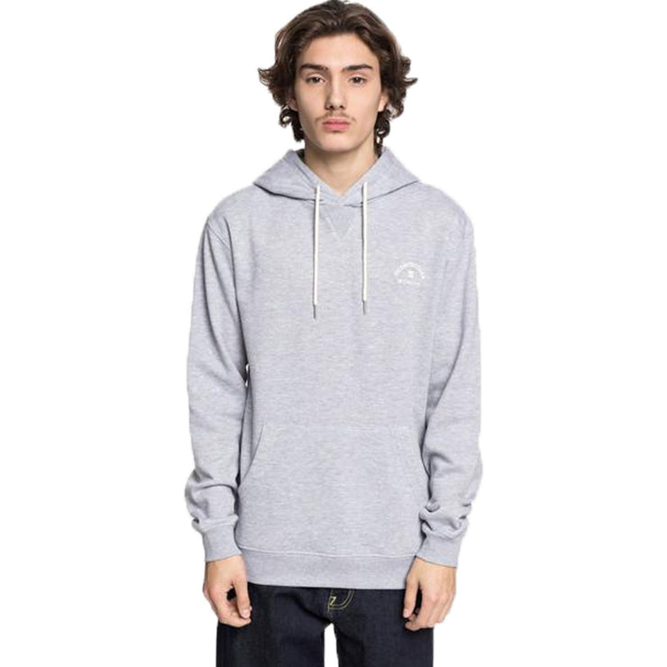 Surf Shop, Surf Clothing, DC Shoes, Rebel 3, Hoodie, Grey Heather