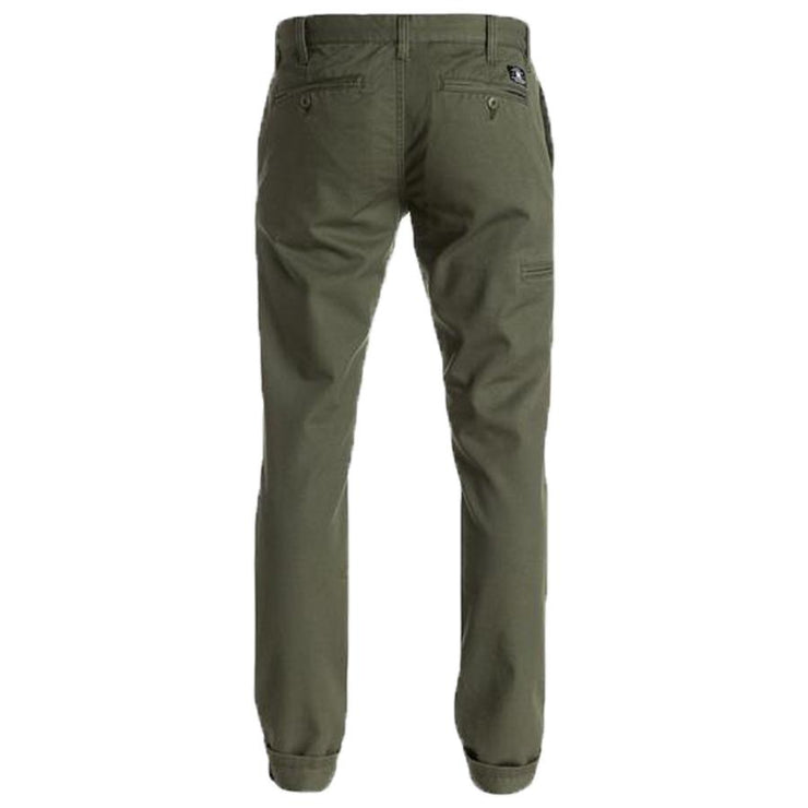 Surf Shop, Surf Clothing, DC Shoes, Skinny Slim Fit Chinos, Pants, Fatigue Green