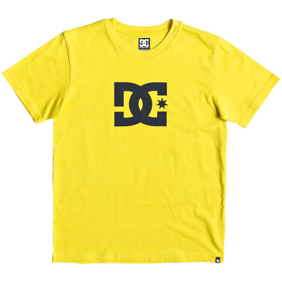 Surf Shop, Surf Clothing, DC Shoes, Star, Tshirt, Yellow