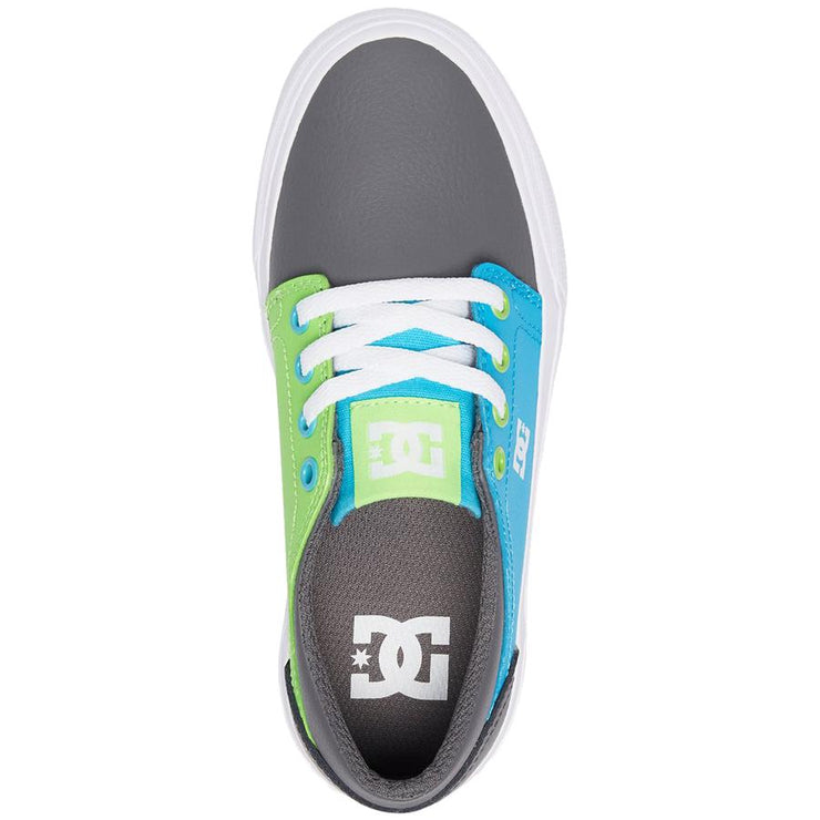 Surf Shop, Surf Clothing, DC Shoes, Trase SE, Shoes, Grey/Green/Blue