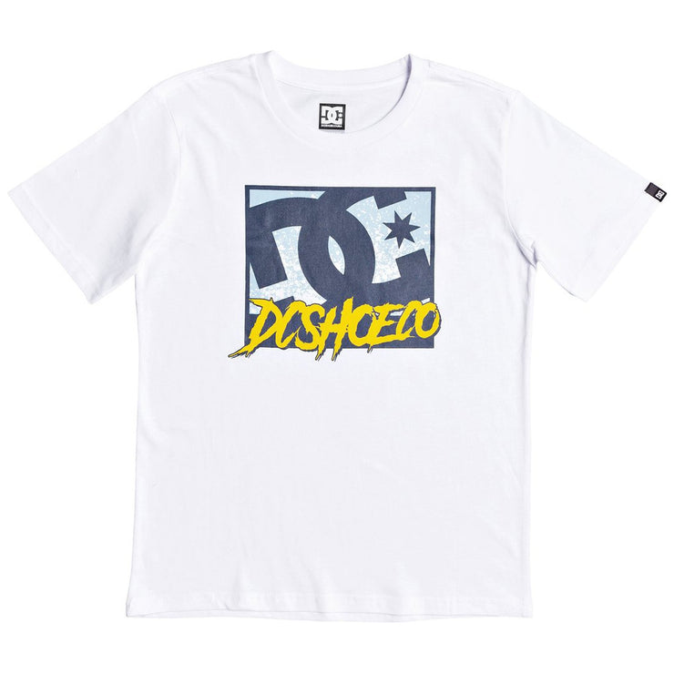 Surf Shop, Surf Clothing, DC Shoes, Window Down, Tshirt, White