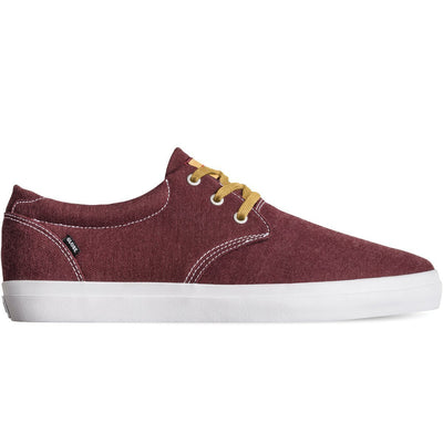 Surf Shop, Surf Clothing, DC Shoes, Winslow, Shoes, Burgundy/Chambray