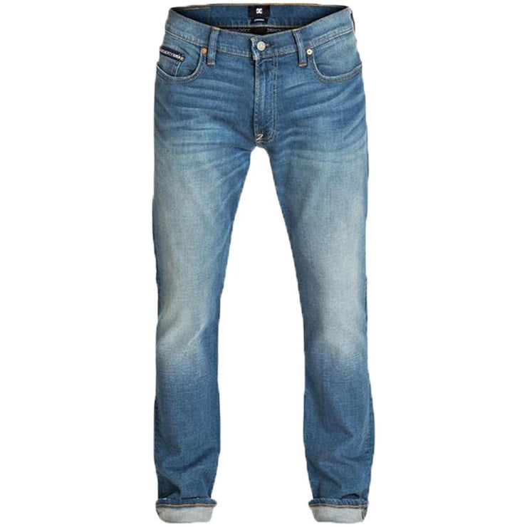 Surf Shop, Surf Clothing, DC Shoes, Worker Straight Pants, Jean, Stone Wash