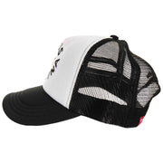 Surf Shop, Surf Clothing, Deus, Circle Logo Trucker, Hats, Black/White