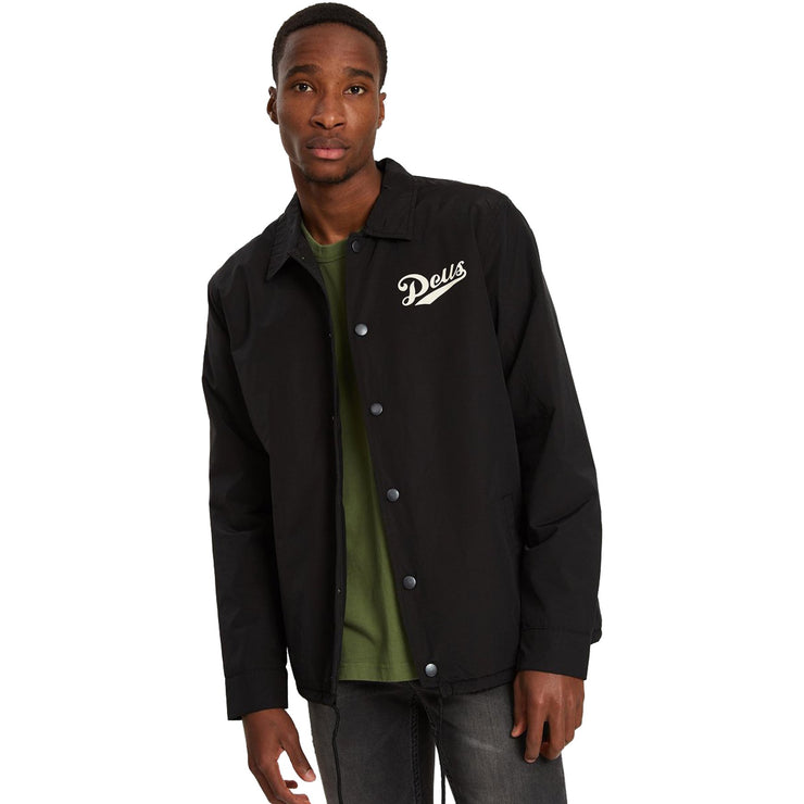 Surf Shop, Surf Clothing, Deus, Parts + Service Coach Jacket, Jackets, Black