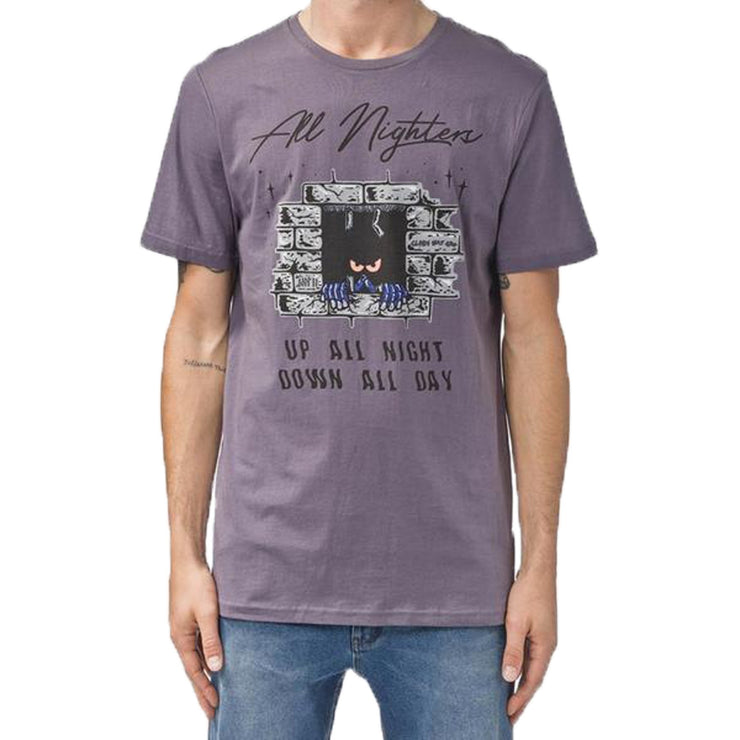 Surf Shop, Surf Clothing, Globe, All Nighters Tee, Tshirt, Dusty Grape