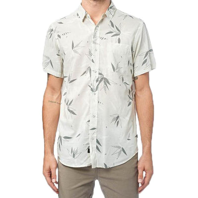 Surf Shop, Surf Clothing, Globe, Bamboo SS Shirt, Shirts, Ecru