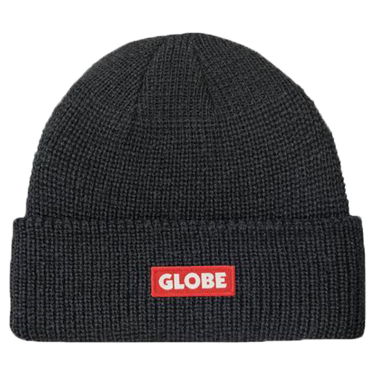 Surf Shop, Surf Clothing, Globe, Bar Beanie, Hat, Black