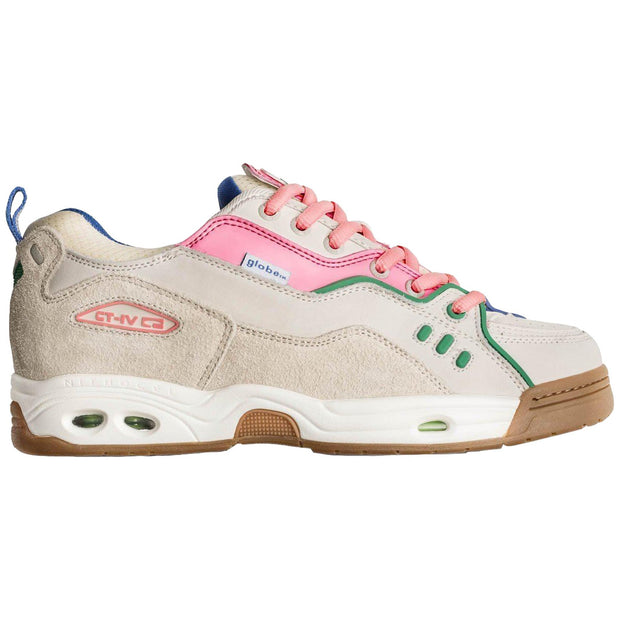 Surf Shop, Surf Clothing, Globe, CT-IV Classic Shoe, Shoes, Silver Birch/Pink/Gum
