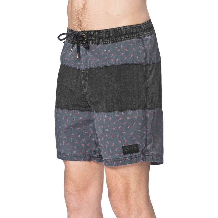 Surf Shop, Surf Clothing, Globe, Dion Cellar Boardshort, Boardshorts, Vintage Black