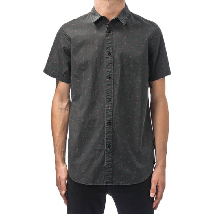 Surf Shop, Surf Clothing, Globe, Dion Cellar SS Shirt, Shirts, Black