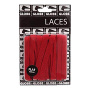 Surf Shop, Surf Clothing, Globe, Flat Shoe Laces, Shoes, Red