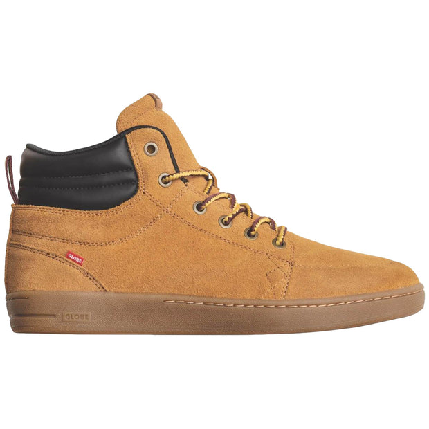 Surf Shop, Surf Clothing, Globe, GS Boot, Shoes, Wheat/Gum